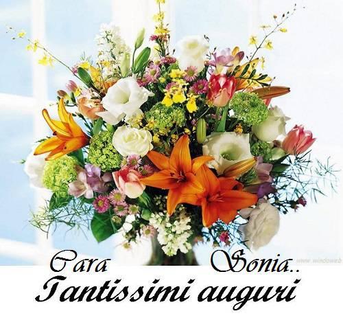 Buon Compleanno Sonia Auguri Dal Cuore Su Fini La Comedie