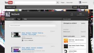 Il mio canale su YouTube
